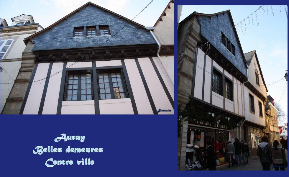 Auray centre ville dans Bretagne Auray-belles-demeures-montage
