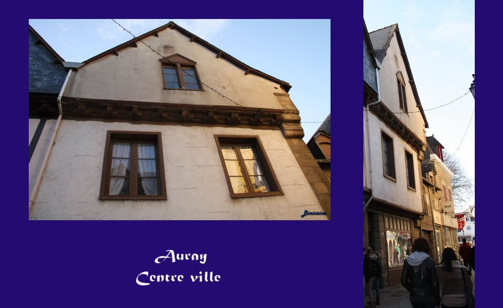 Auray-centre-ville-montage Auray dans Photos