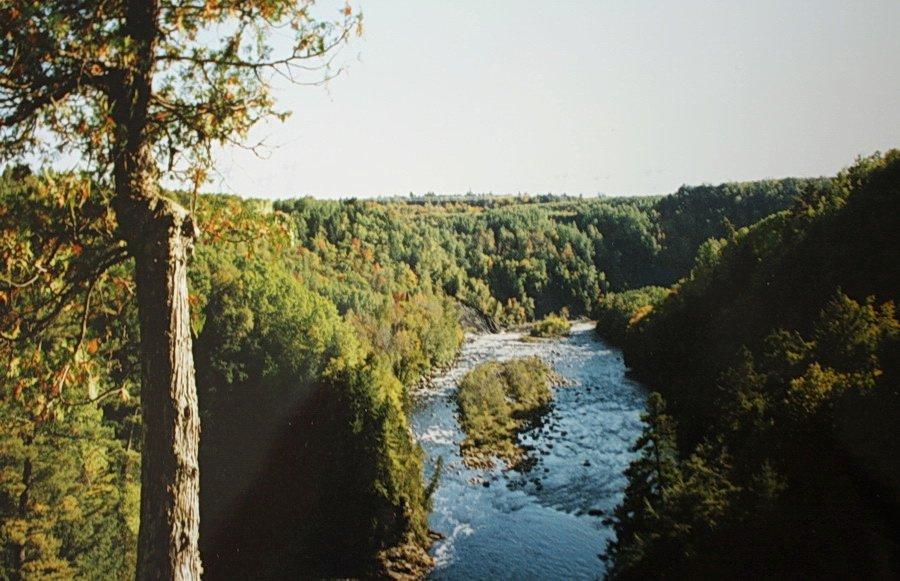 Canyon Saint Anne. Québec. dans Canada Canyon-Ste-Anne-03