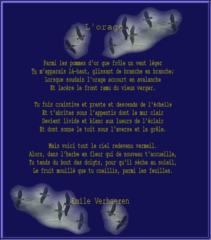 L'orage, Emile Verhaeren . dans Textes choisis Lorage-E-Verhaeren-