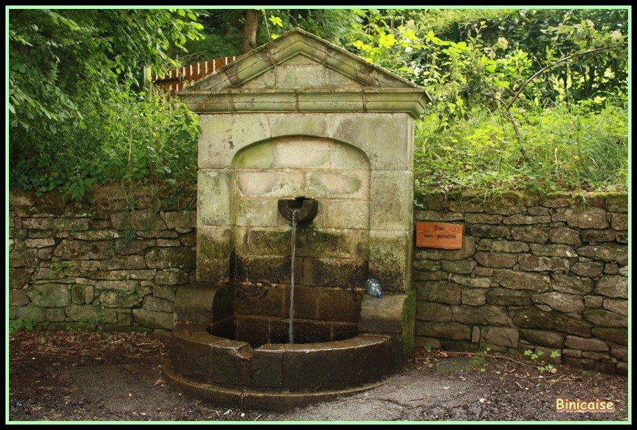 Fontaine dans Bretagne Fontaine