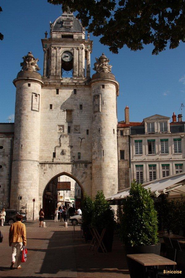 La Grosse Horloge. dans La Rochelle La-Rochelle-01