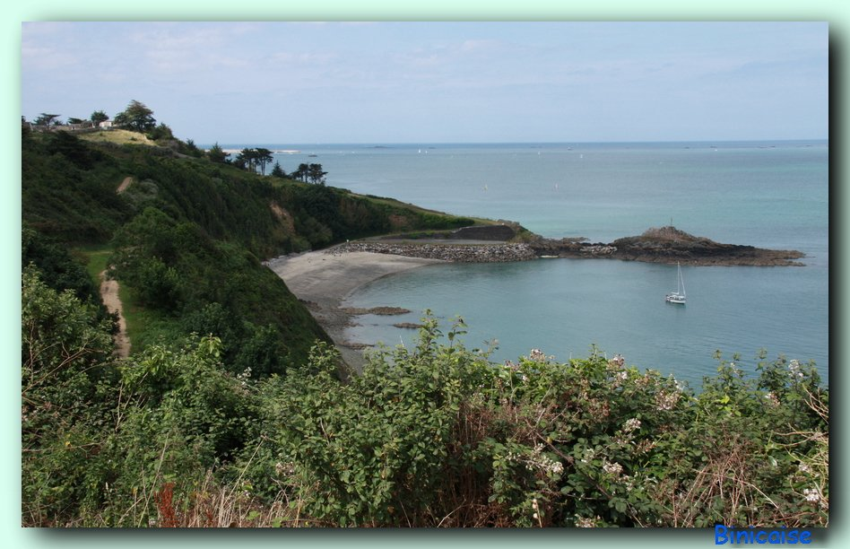 La pointe de la Rognouse. dans Bretagne Pointe-de-la-rognouse