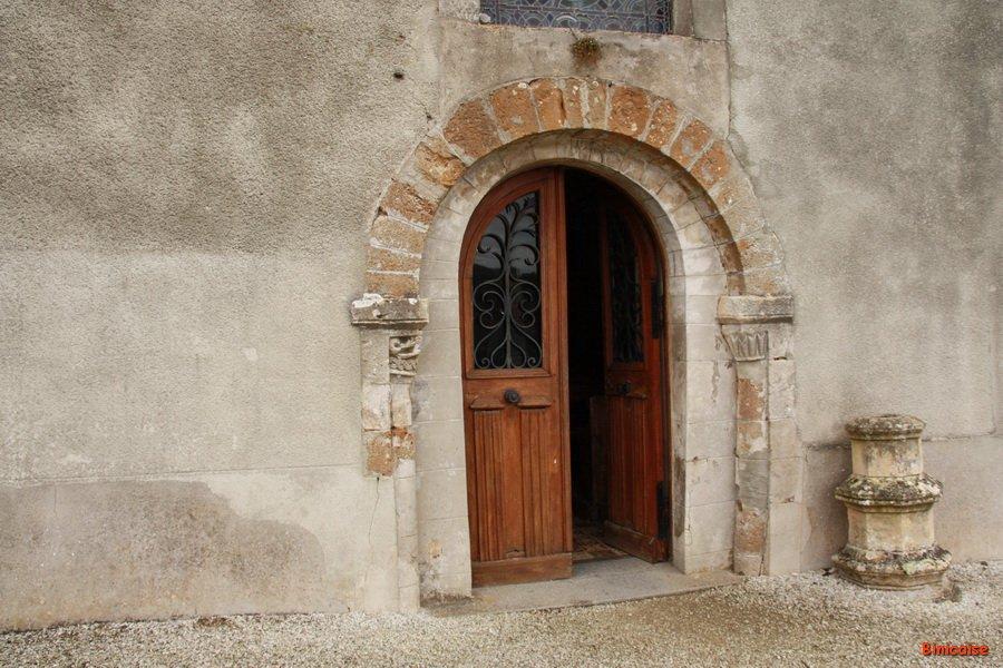 Saint Rémy église romane suite. dans Normandie st-remy-eglise-02