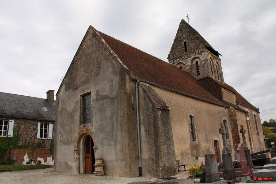 Eglise romane de St Remy . dans Normandie st-remy-eglise-07