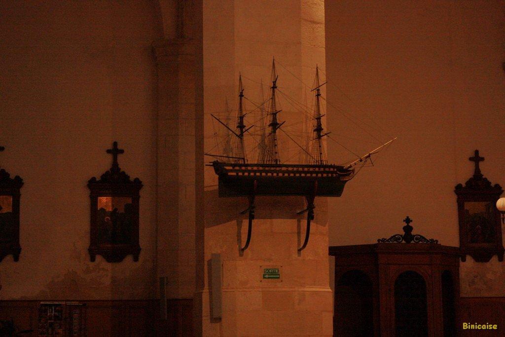Ex voto Eglise Saint Sauveur. dans La Rochelle eglise-saint-sauveur-05
