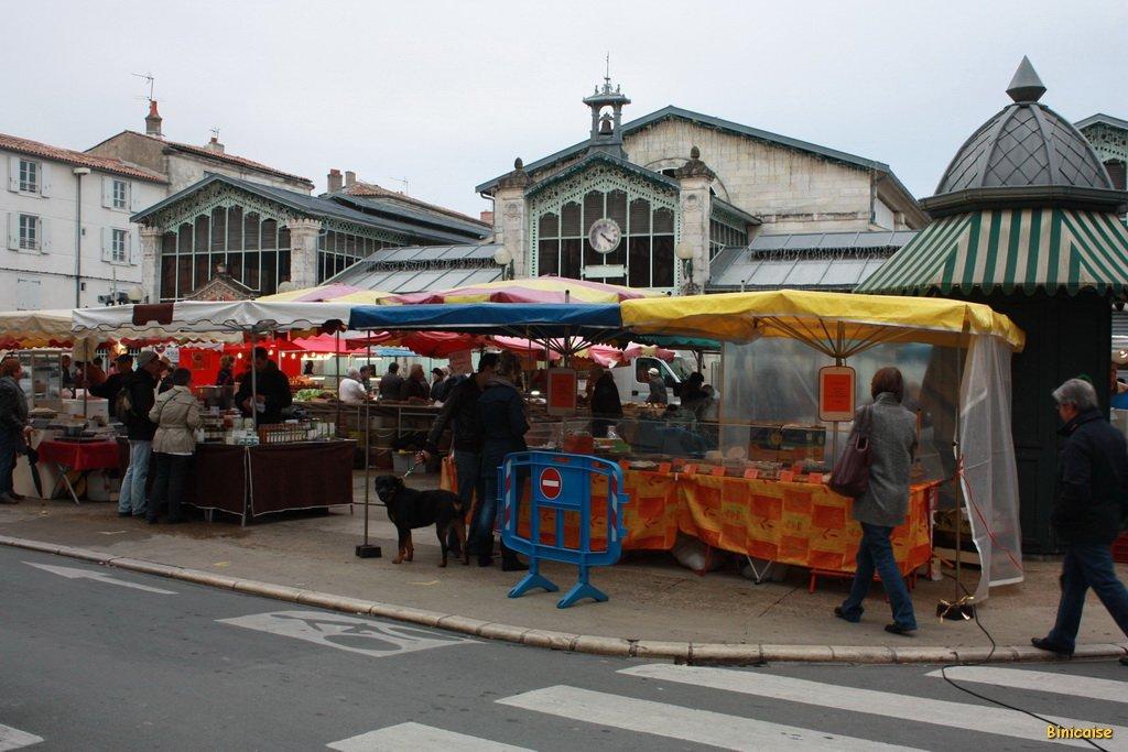 Marché. La Rochelle . dans La Rochelle marche-01