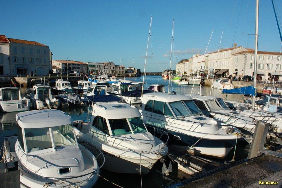 St Martin de Ré, le port. dans La Rochelle st-martin-de-re-14