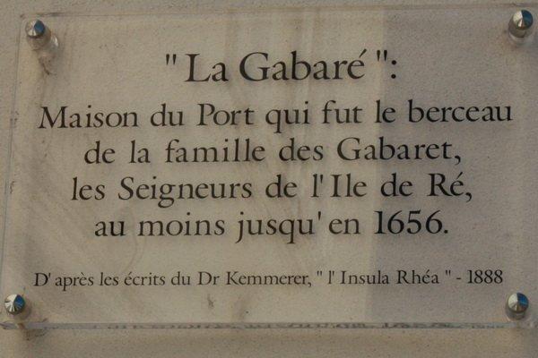 La Gabaré, St Martin de Ré. dans La Rochelle st-martin-de-re-30
