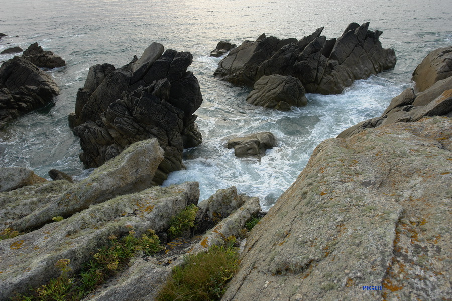 Finistère rochers. dans Bretagne finistere-02