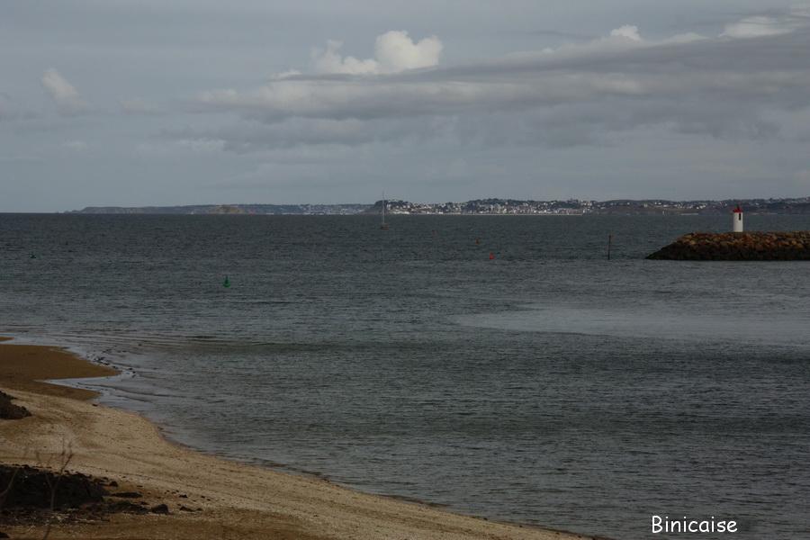 Le Légué vue sur la Baie de St Brieuc. dans Bretagne le-legue