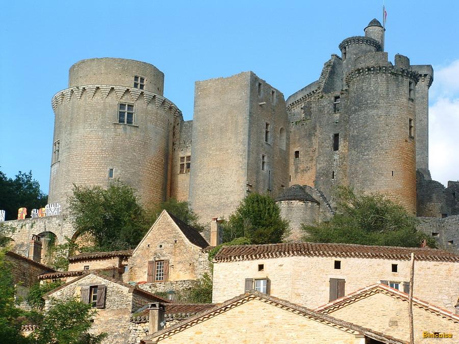 Château de Bonaguil. dans Paysages urbains et autres bonaguil-chateau-27_redimensionner