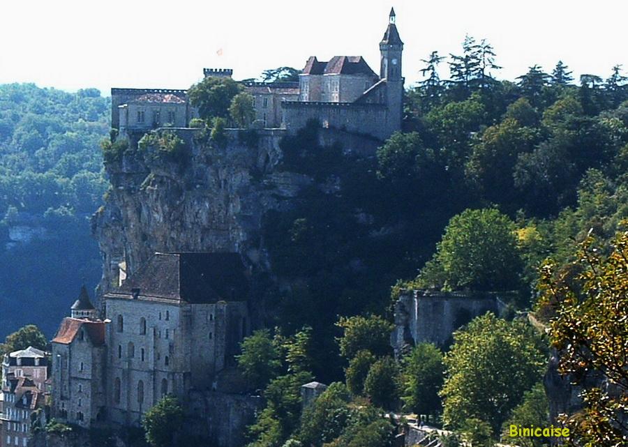 Rocamadour. dans Paysages urbains et autres rocamadour