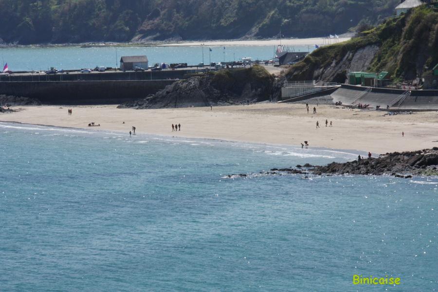 Plage dite de l'avant Port . Binic. dans Bretagne plage-de-lavant-port