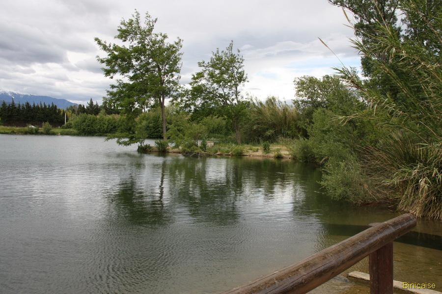 millas-2013-10 Les lacs de Millas dans Pyrénées orientales