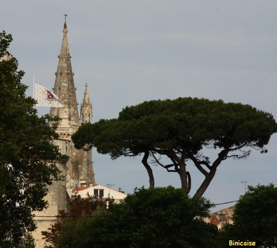 La tour de la Lanterne. dans La Rochelle tour-de-la-chaine