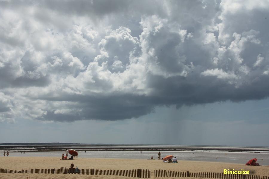 Avant le grain, plage de Chatelaillon. dans La Rochelle plage-avant-le-grain