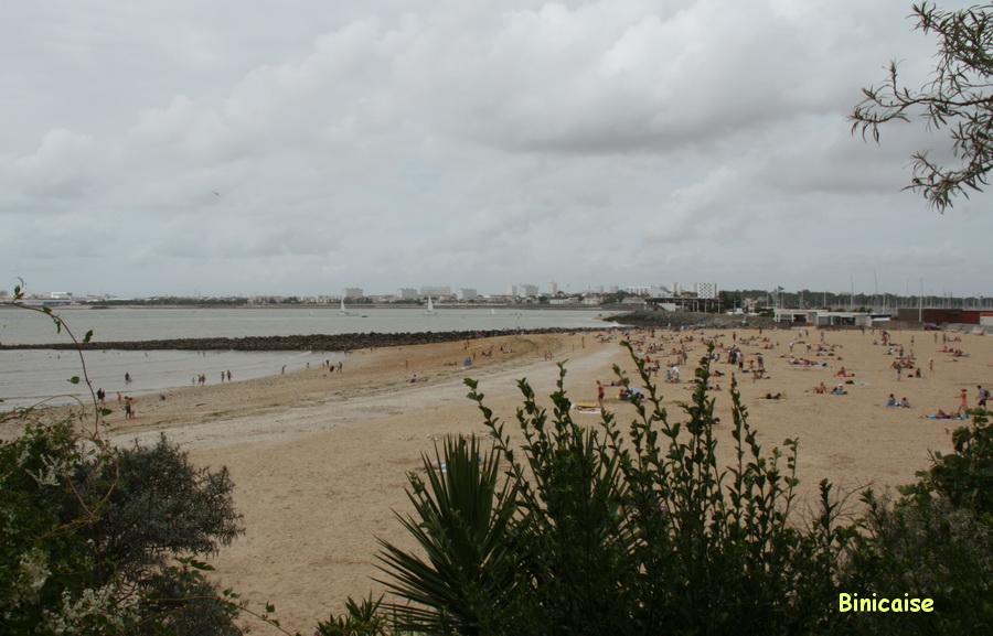 Plage des Minimes. dans La Rochelle plage-des-minimes-2