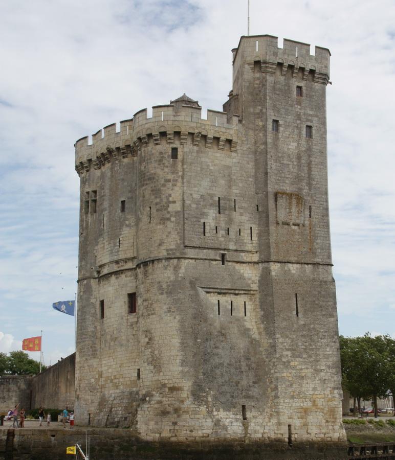 Tour Saint Nicolas. dans La Rochelle tour