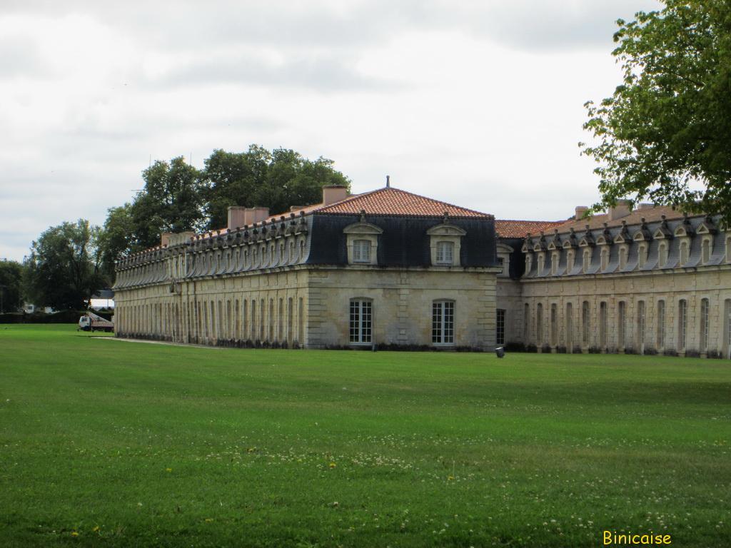 Corderie Royale, Rochefort. dans Charentes Maritimes corderie-royale