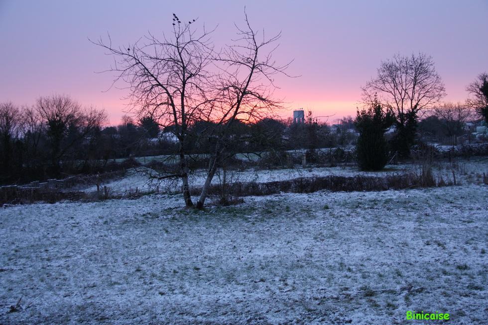 Neige à Ste Soulle
